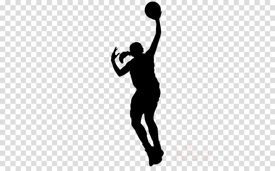 basketball basketball player volleyball player silhouette standing