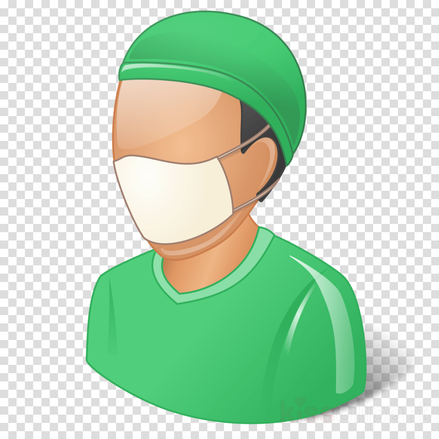 green face head cartoon headgear