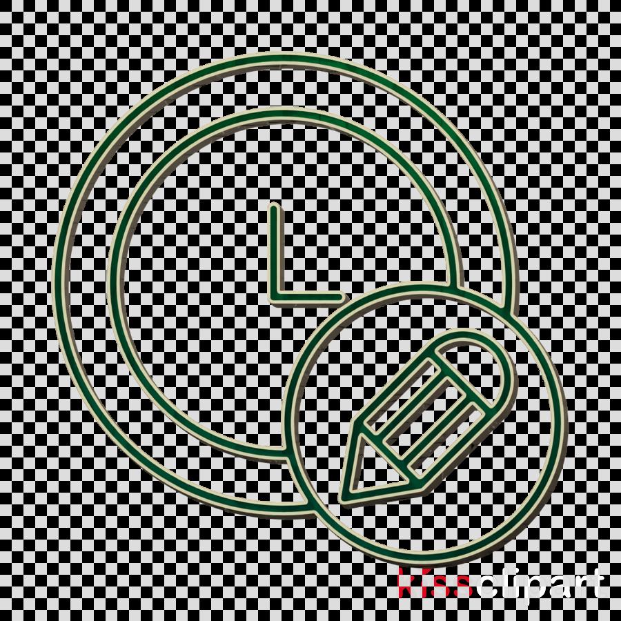 Clock icon Creative icon Pencil icon