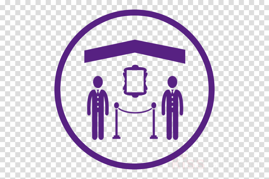 violet purple line icon circle