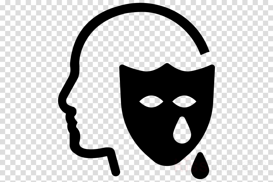 face head line art line black-and-white