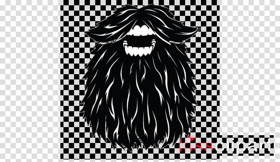 hair facial hair beard head black-and-white