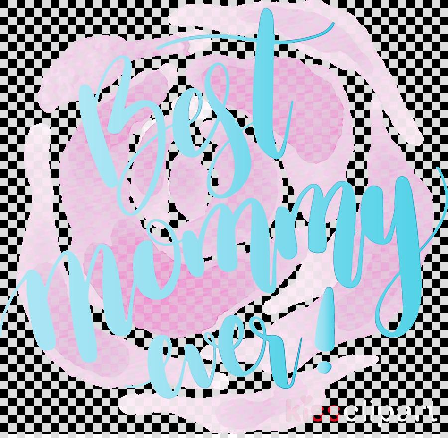 text font pink turquoise aqua