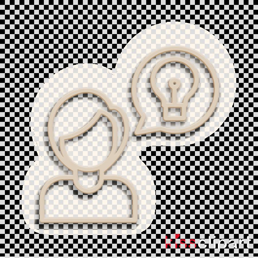 Creative icon Idea icon Brain icon