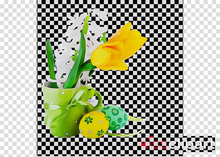 yellow flowerpot plant flower tulip