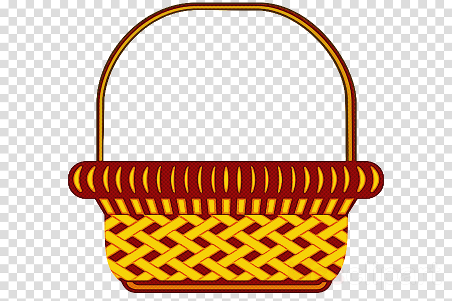 storage basket basket yellow home accessories picnic basket