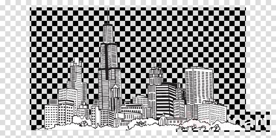 skyscraper city metropolitan area skyline metropolis