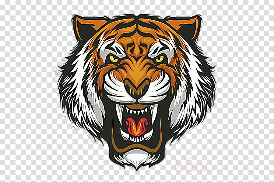 bengal tiger tiger head logo wildlife