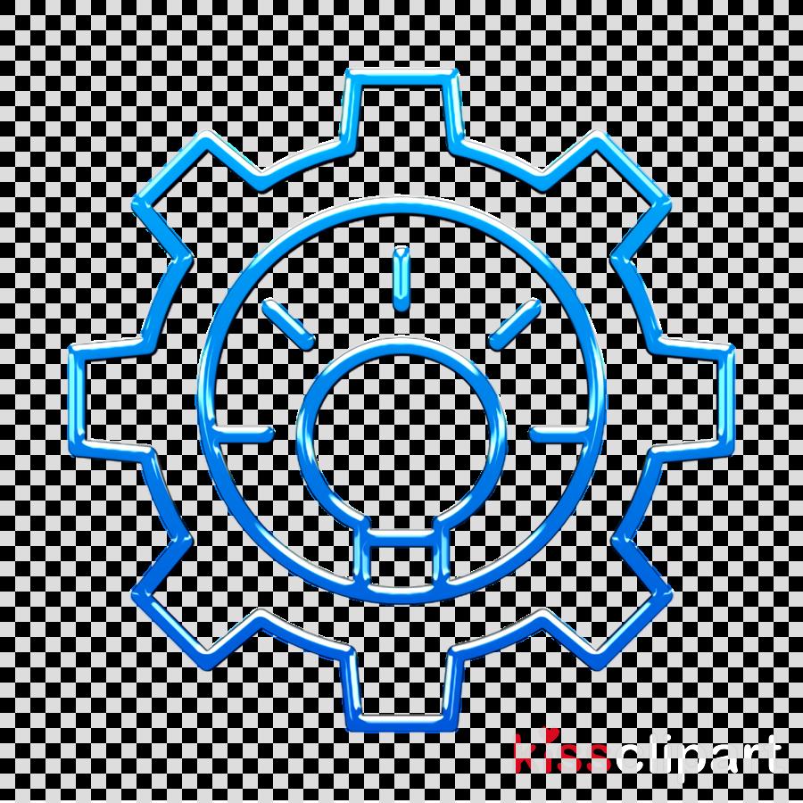 Idea icon Process icon Creative icon