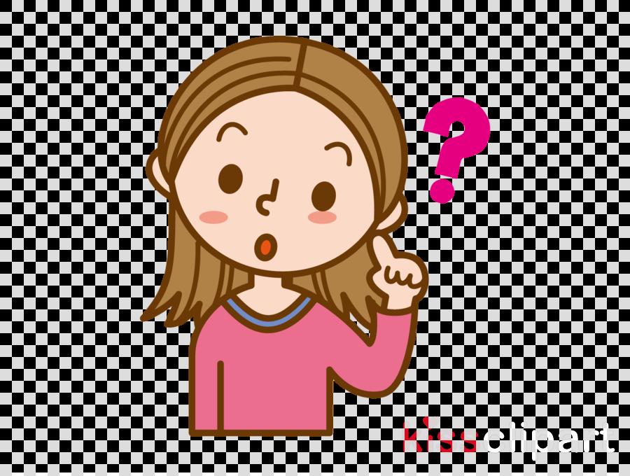 cartoon hair pink cheek facial expression