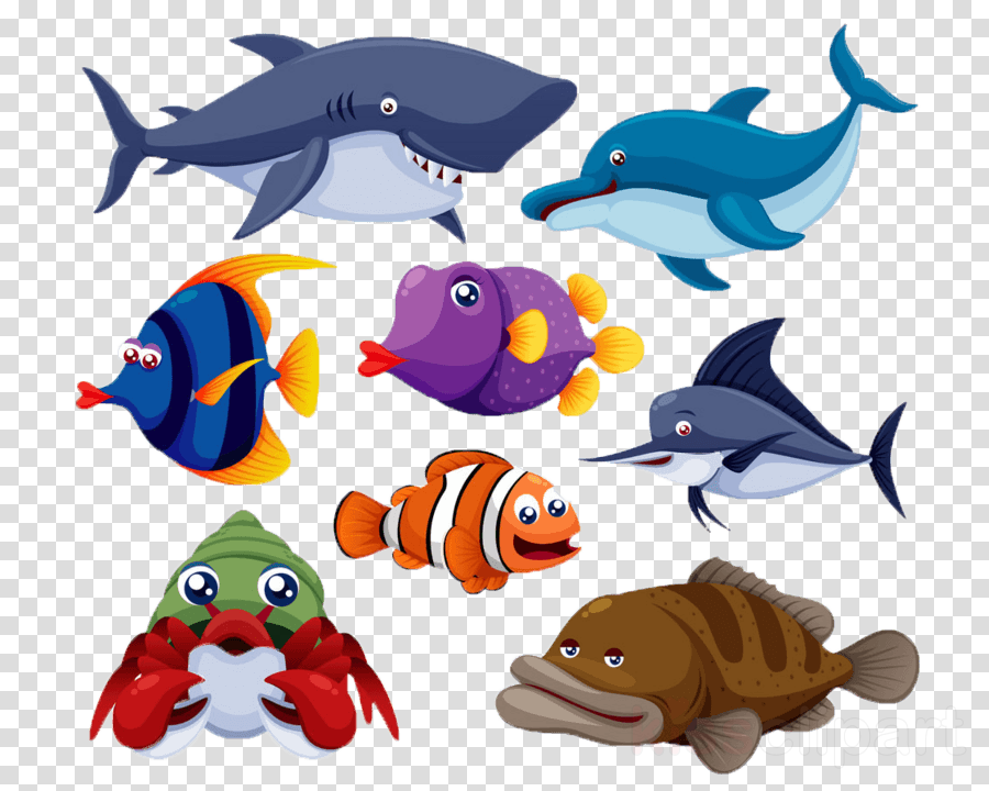 animal figure fish fish fin dolphin