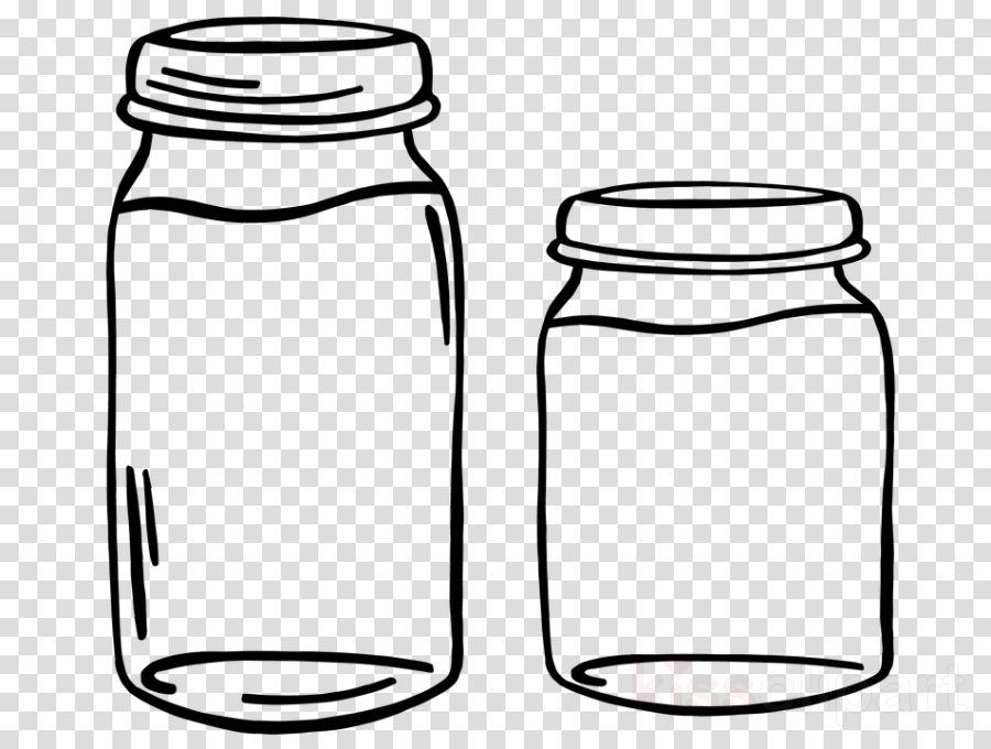 food storage containers mason jar line art salt and pepper shakers drinkware