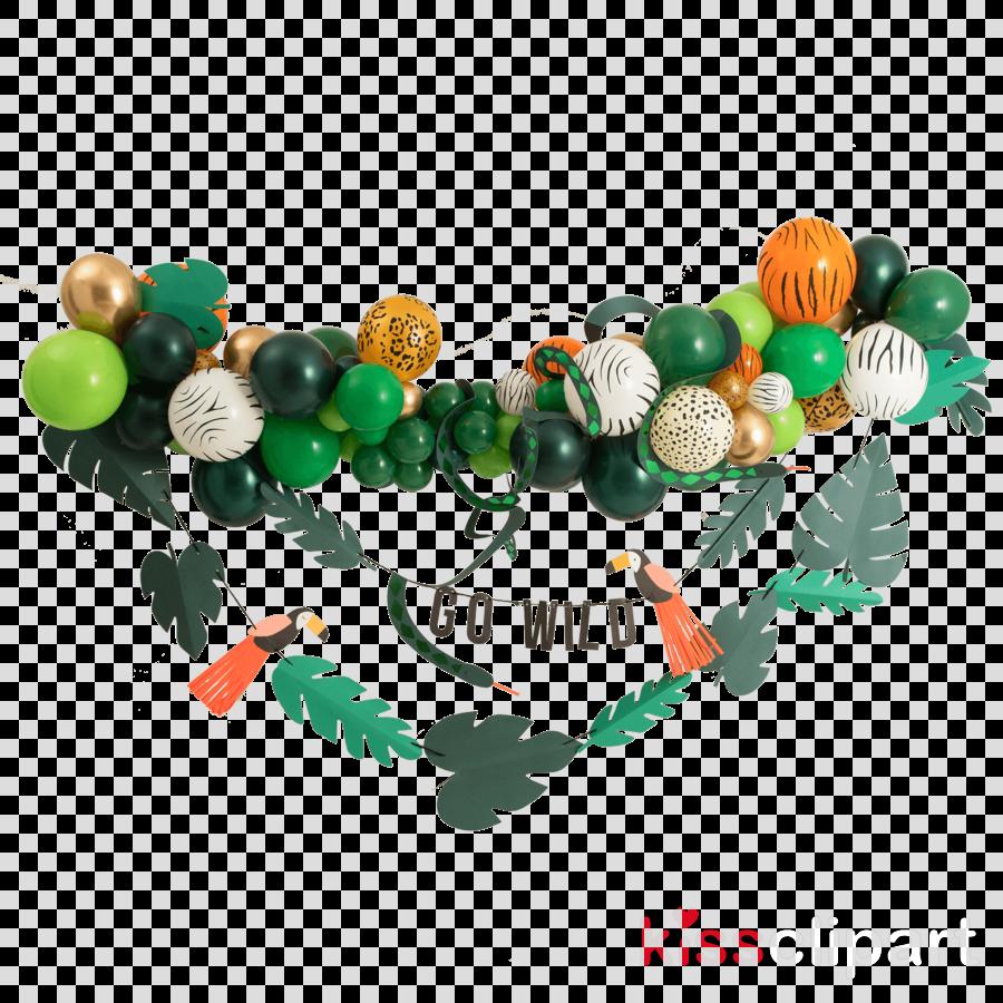 green leaf bracelet symbol bead