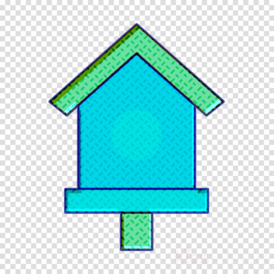 Nest icon Cultivation icon Bird house icon