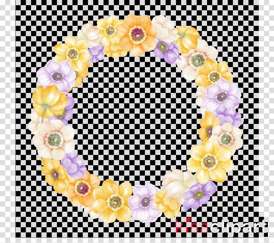 lei yellow purple violet body jewelry