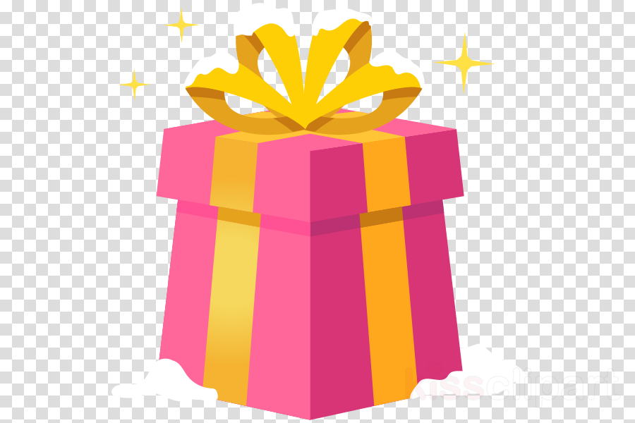 ribbon pink yellow present gift wrapping