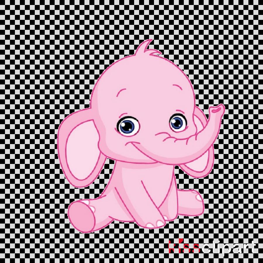 pink cartoon nose animation drawing