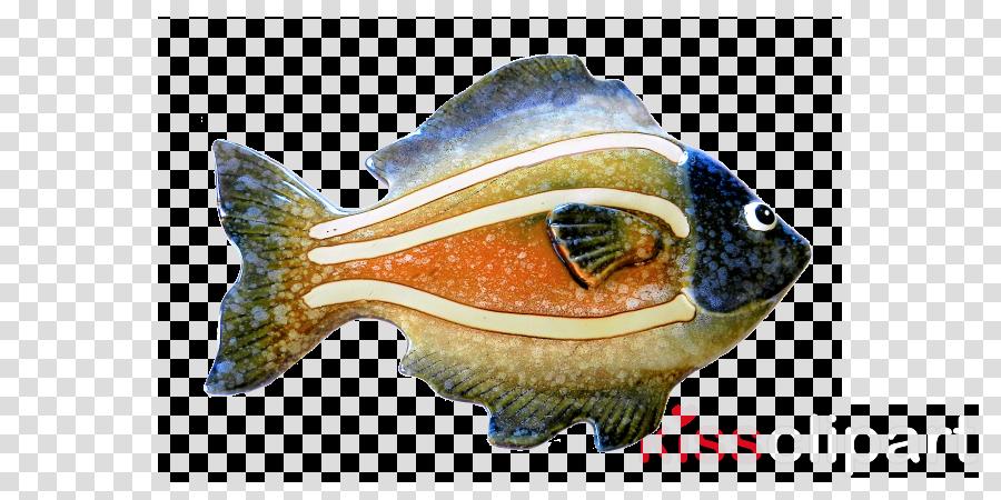 fish fish bluegill ceramic