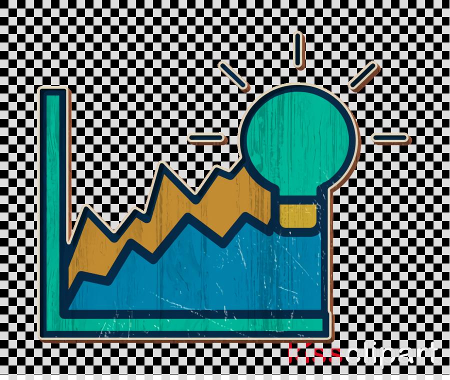 Graph icon Achievement icon Creative icon