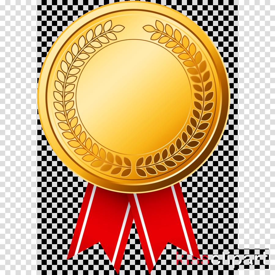 yellow circle emblem medal