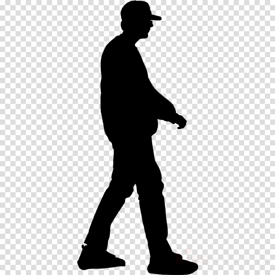 silhouette standing