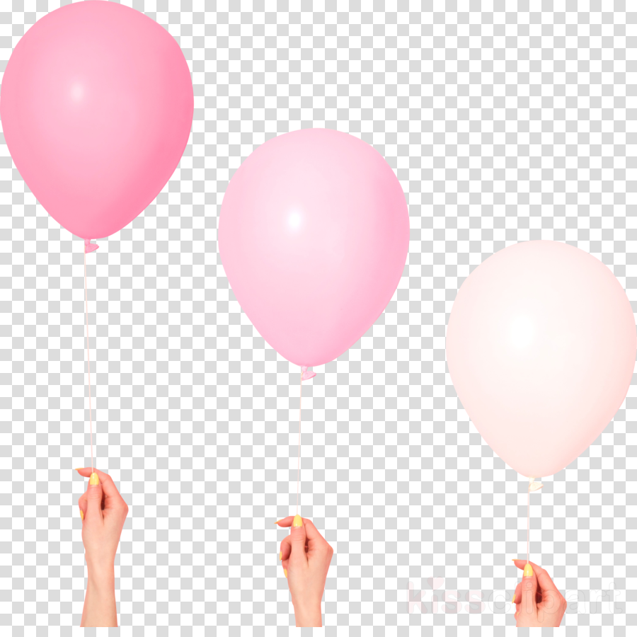 balloon pink party supply heart party