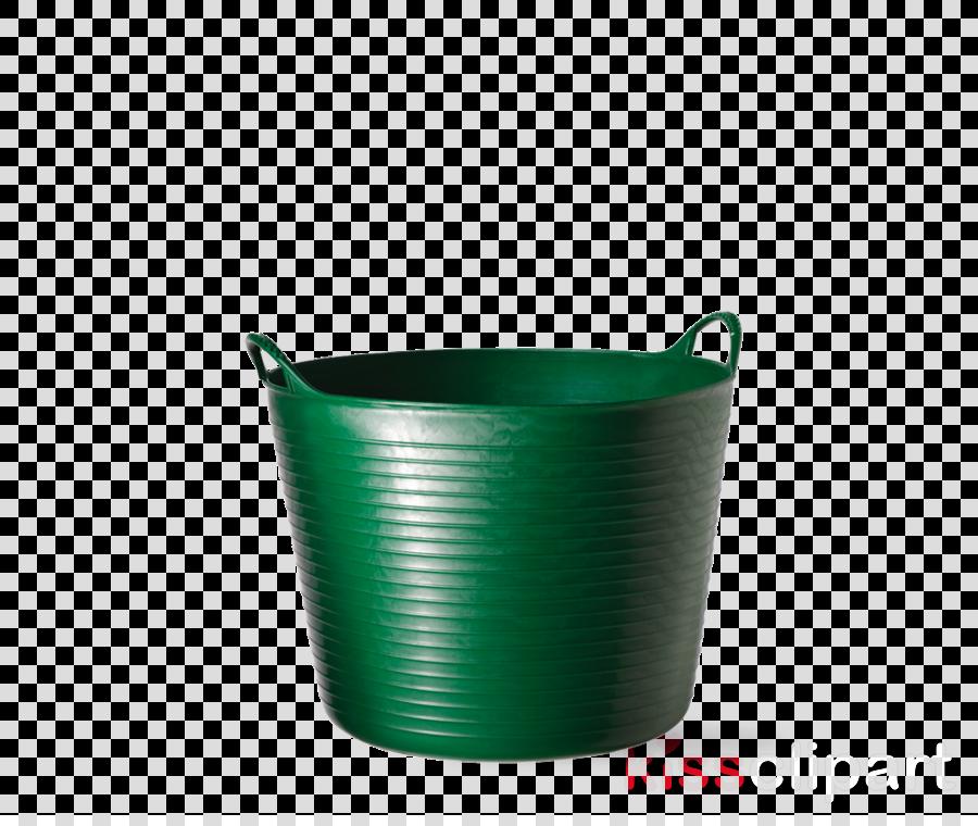 green turquoise plastic cup mug