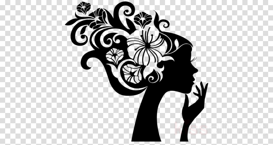 black-and-white plant visual arts flower hibiscus