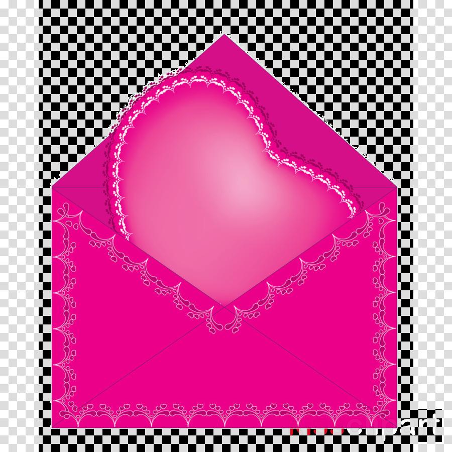 pink heart magenta paper