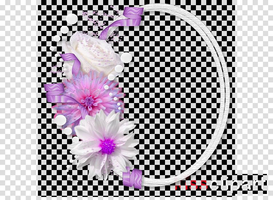 pink purple violet petal headgear
