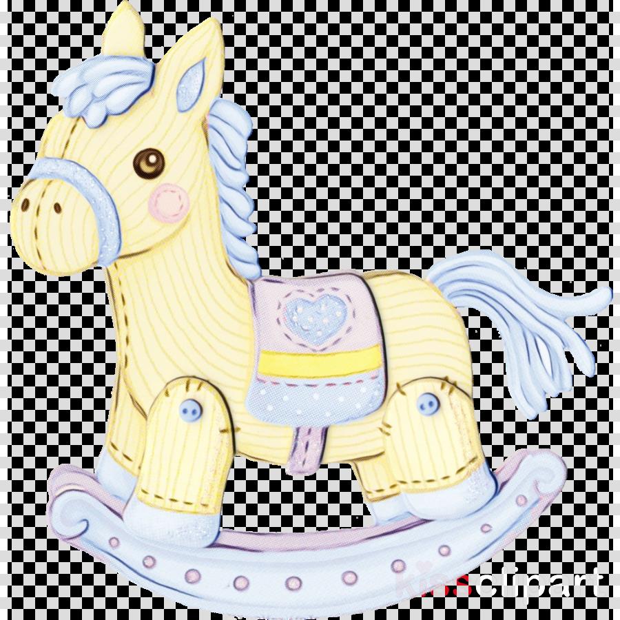 cartoon animal figure horse pony riding toy