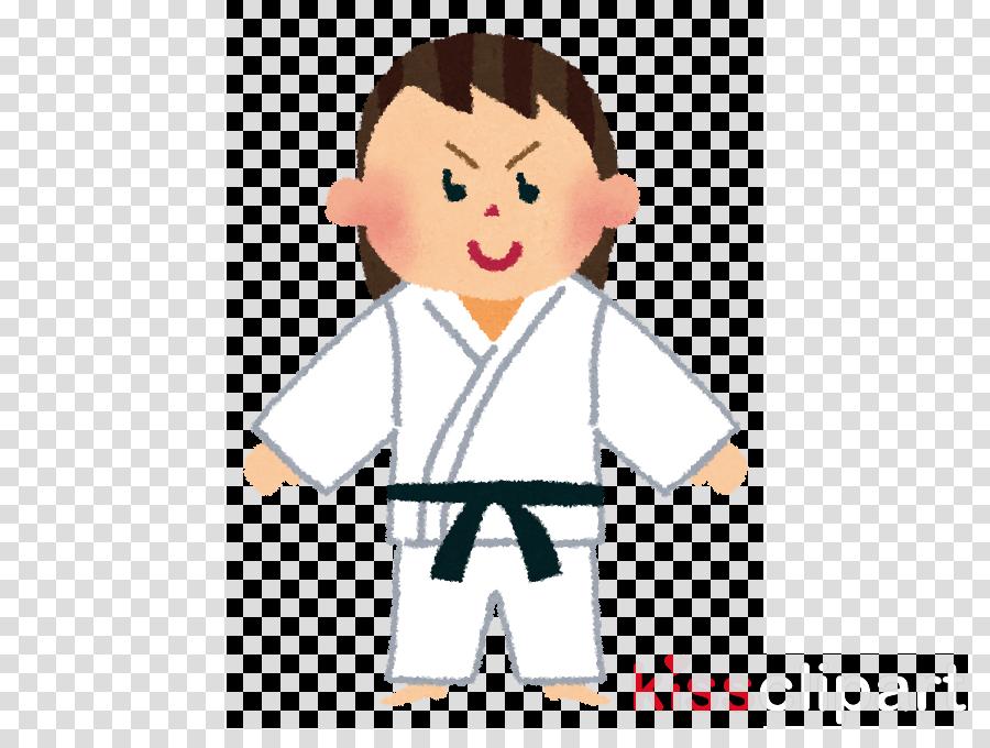 karate martial arts uniform cartoon martial arts taekwondo