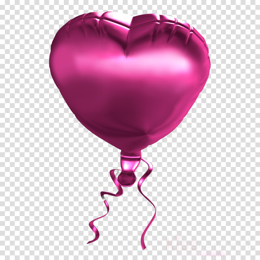 heart pink balloon magenta party supply