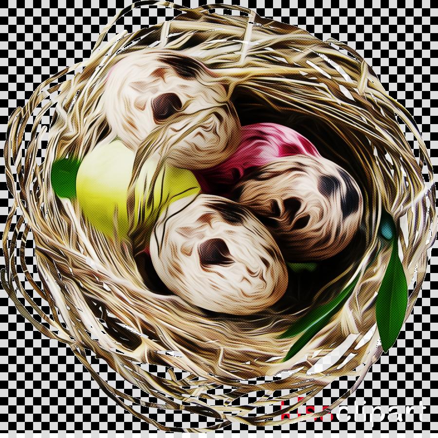 bird nest nest gift basket thread