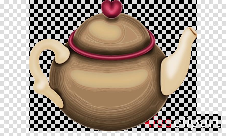 teapot lid kettle tableware pink