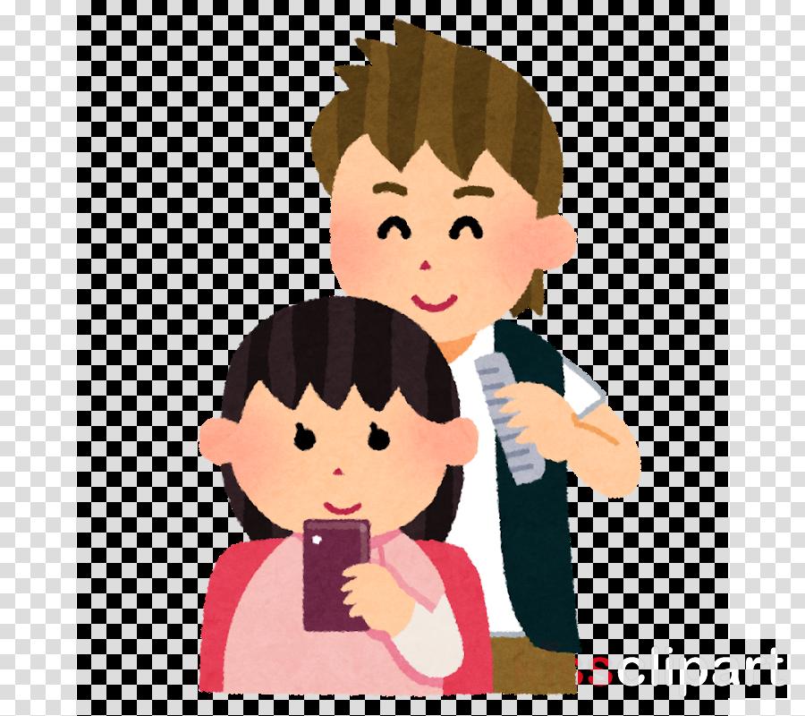 cartoon cheek child finger interaction