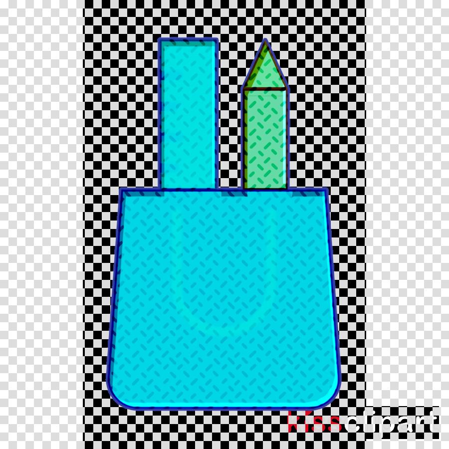 Creative icon Ruler icon Bag icon