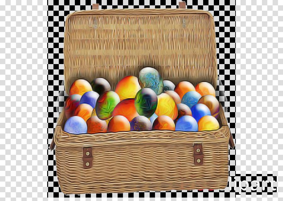 basket wicker gift basket easter food