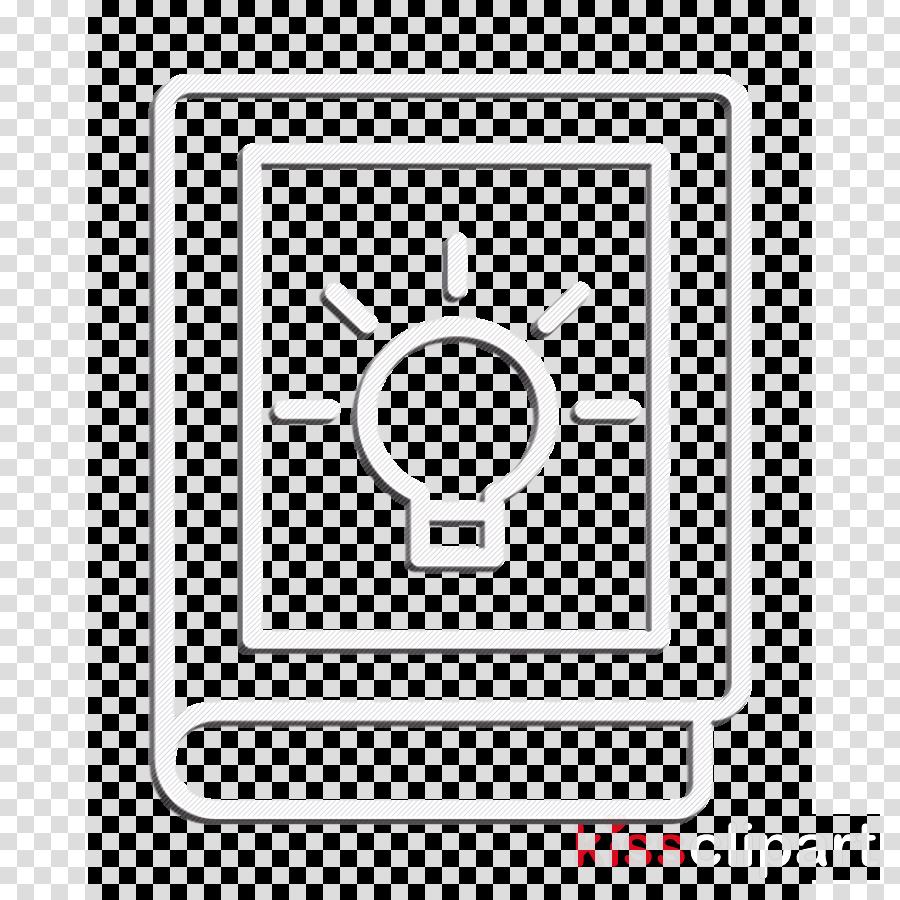 Creative icon Idea icon Book icon