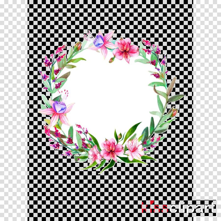 pink flower plant lei wreath