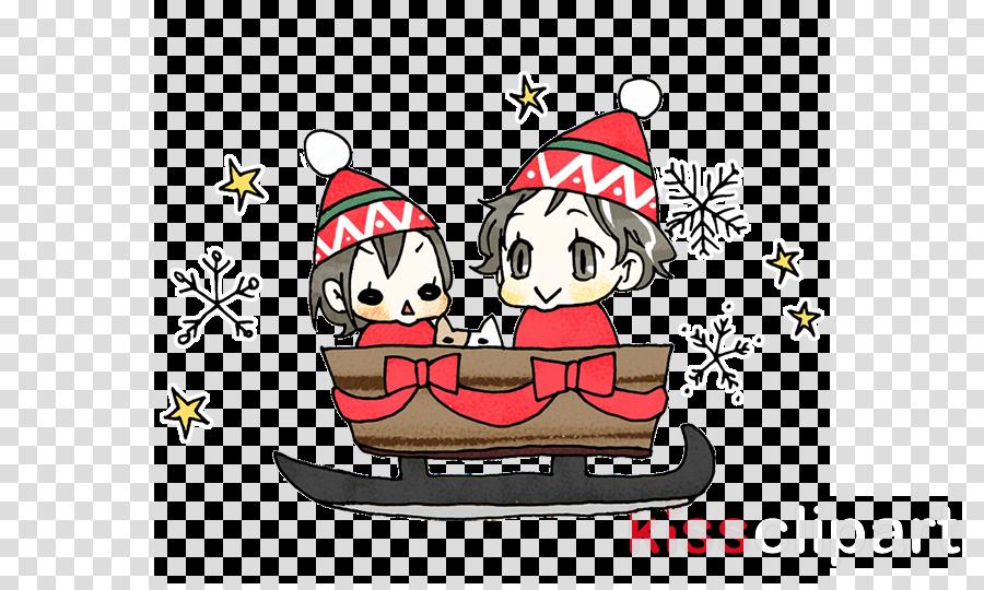 cartoon christmas eve boat vehicle watercraft