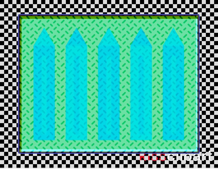 Creative icon Color pencils icon