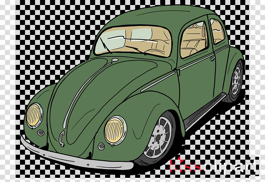 car vehicle green classic car volkswagen beetle