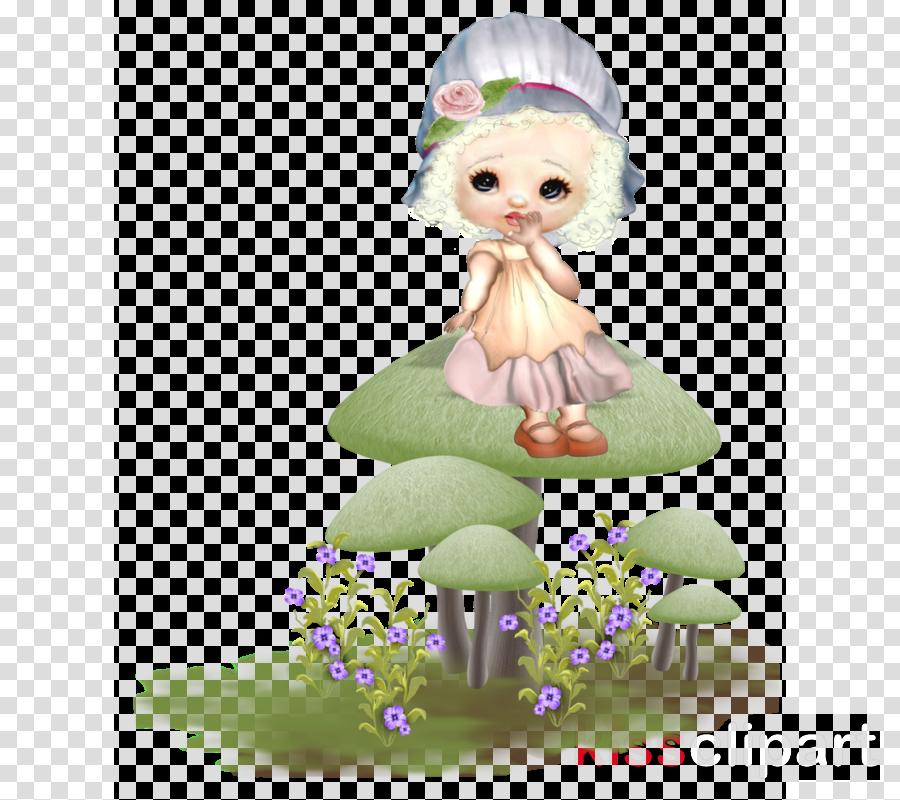 cartoon figurine plant