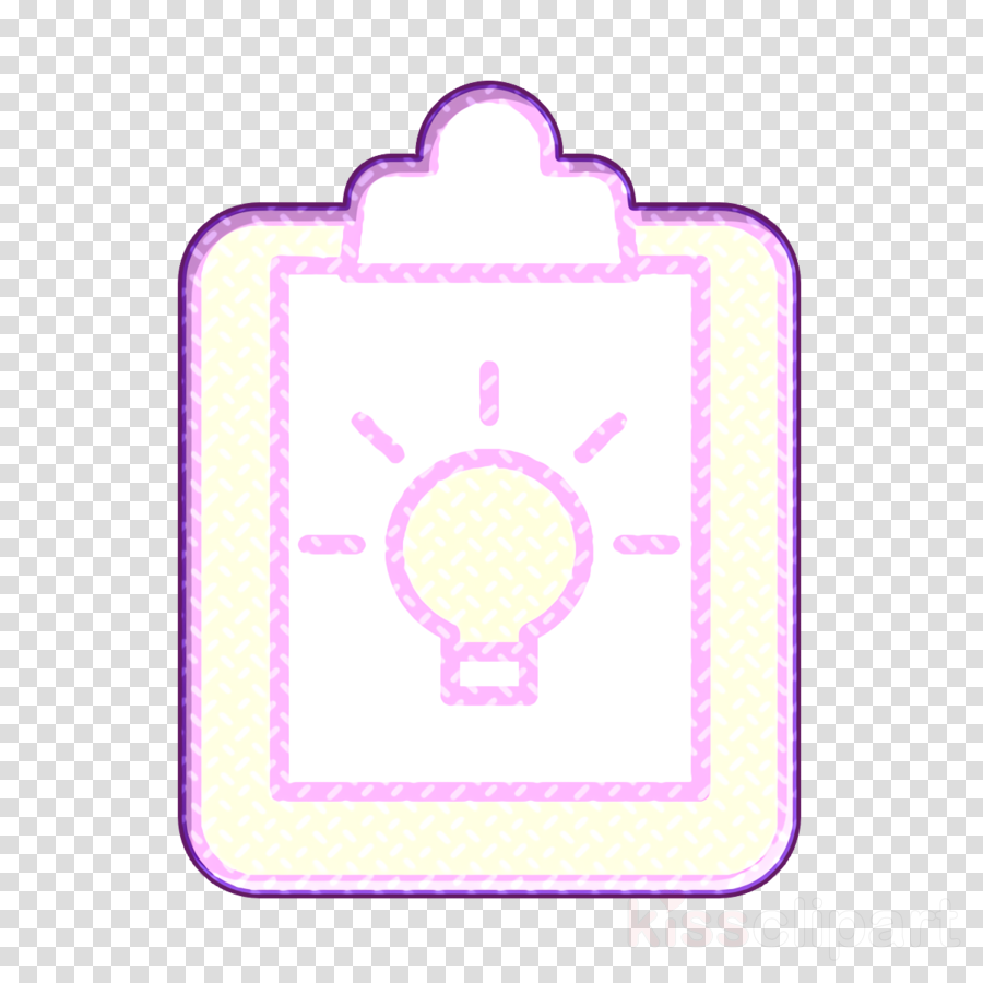 Creative icon Clipboard icon Business and finance icon