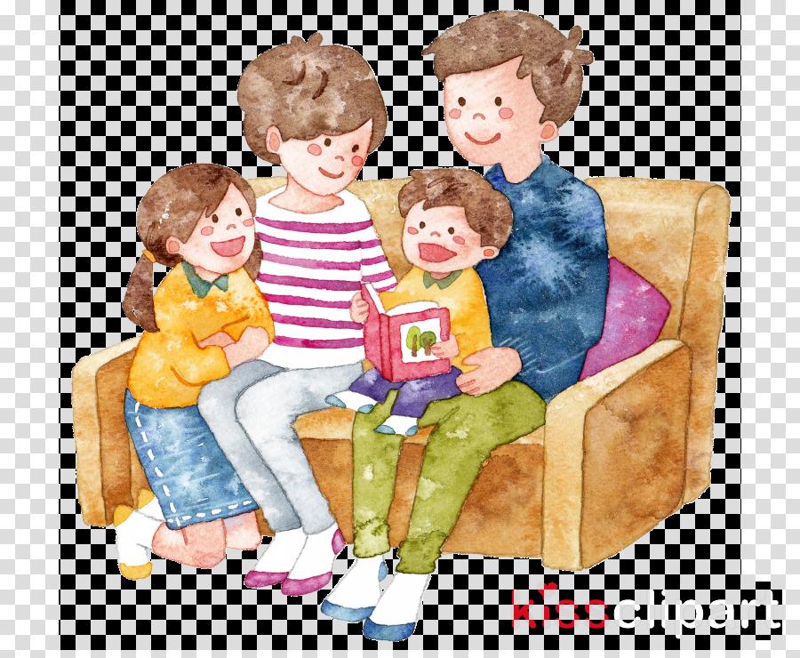 cartoon child play sharing toddler