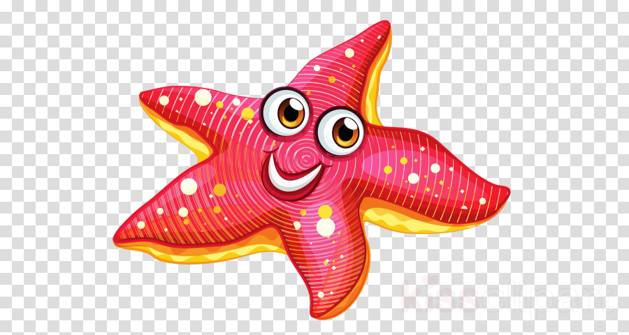 starfish pink animal figure magenta star