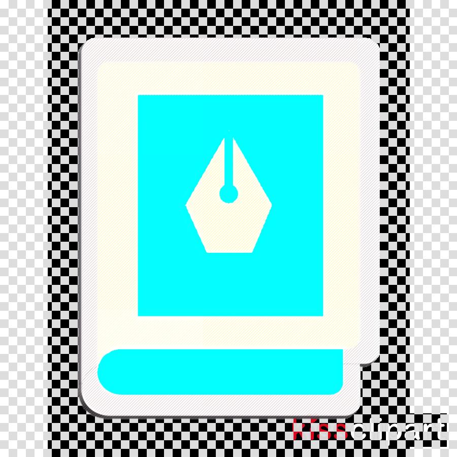 Book icon Creative icon Writing tools icon