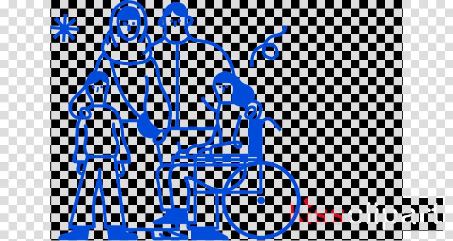 people social group blue line art text