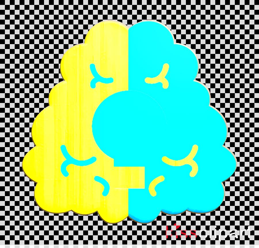 Brain icon Creative icon Idea icon